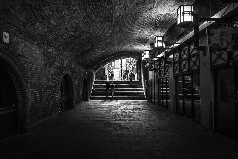 Embankment, London.
