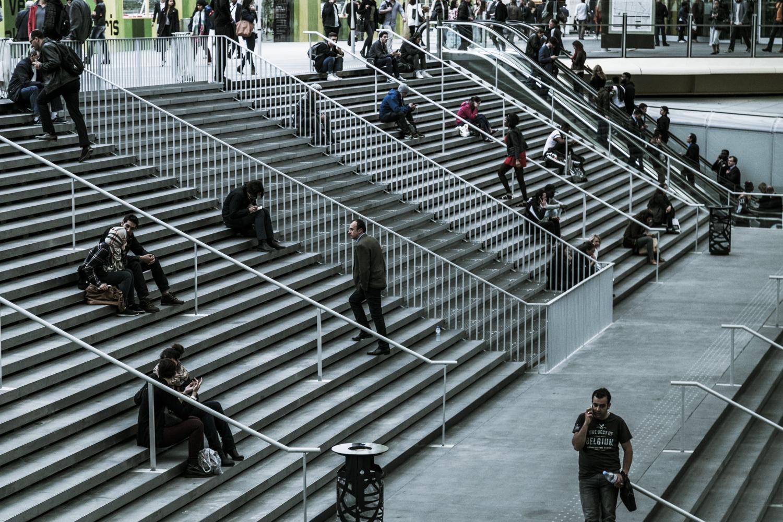 New Châtelet - Les Halles Station