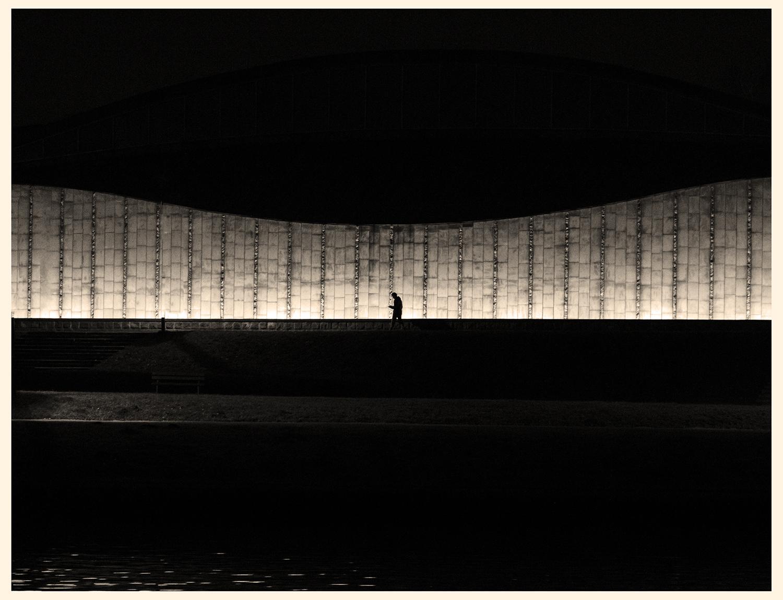 An Evening Walker