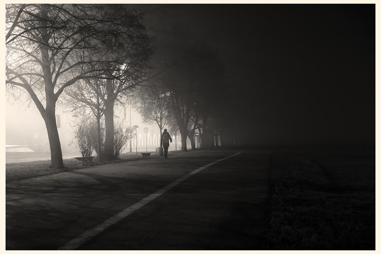 Foggy Kraków