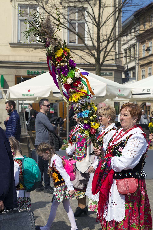 Palm Sunday in Kraków