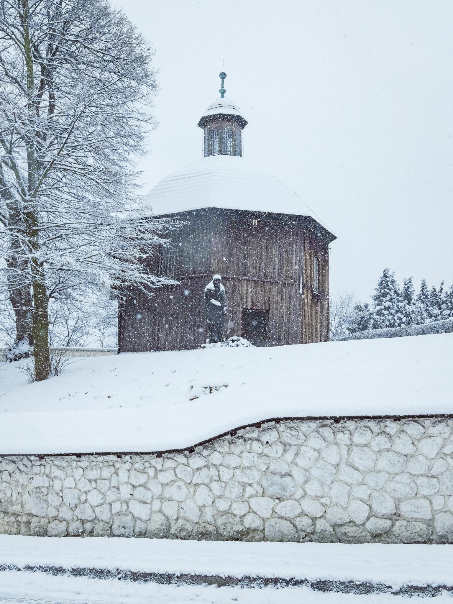 Wintery Krakow