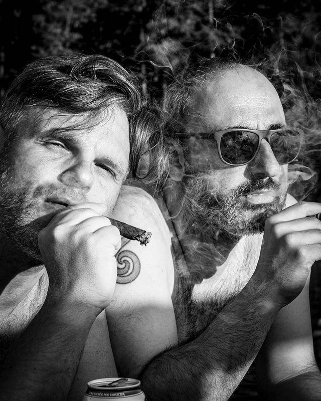 Two my best buddies. #bnw #potraitphotography #blackandwhitephotography #igersblackandwhite #czarnobialezdjecie