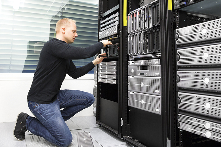 We can build your network, project manage, rollout software updates and handle day-to-day support calls.