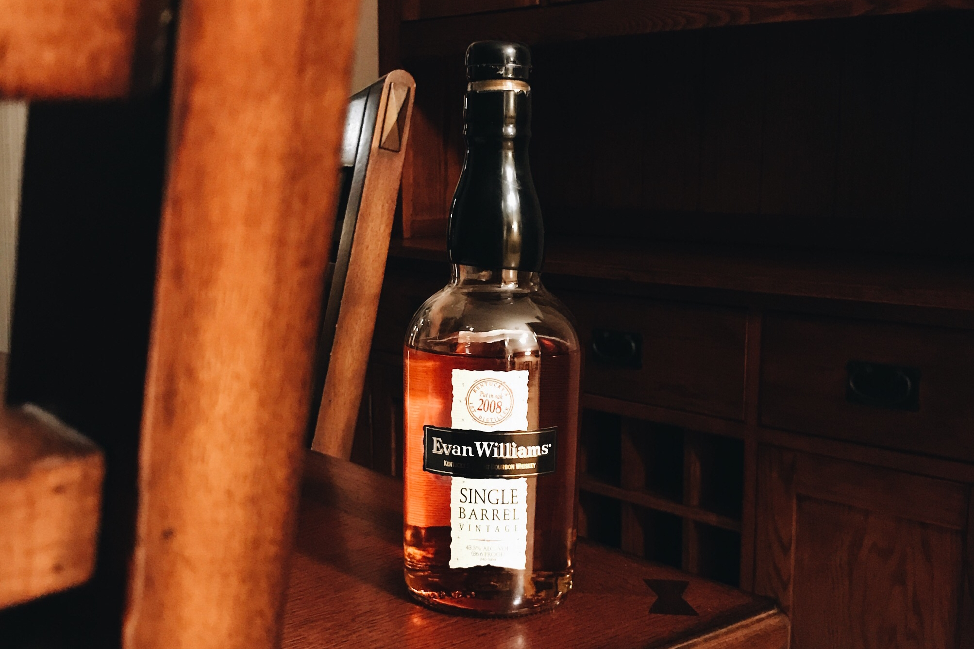Evan Williams Single Barrel - More Info