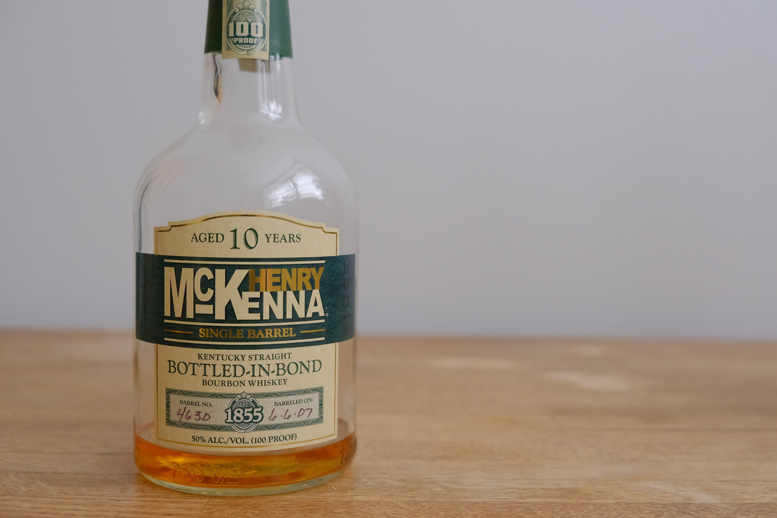 5. Henry McKenna - The recent 'Best in Show Whiskey' at the 2019 San Francisco World Spirits Competition. This one is worth grabbing for dad and for yourself. A 10 year, bottled-in-bond, single barrel whiskey makes this one heck of a bottle.