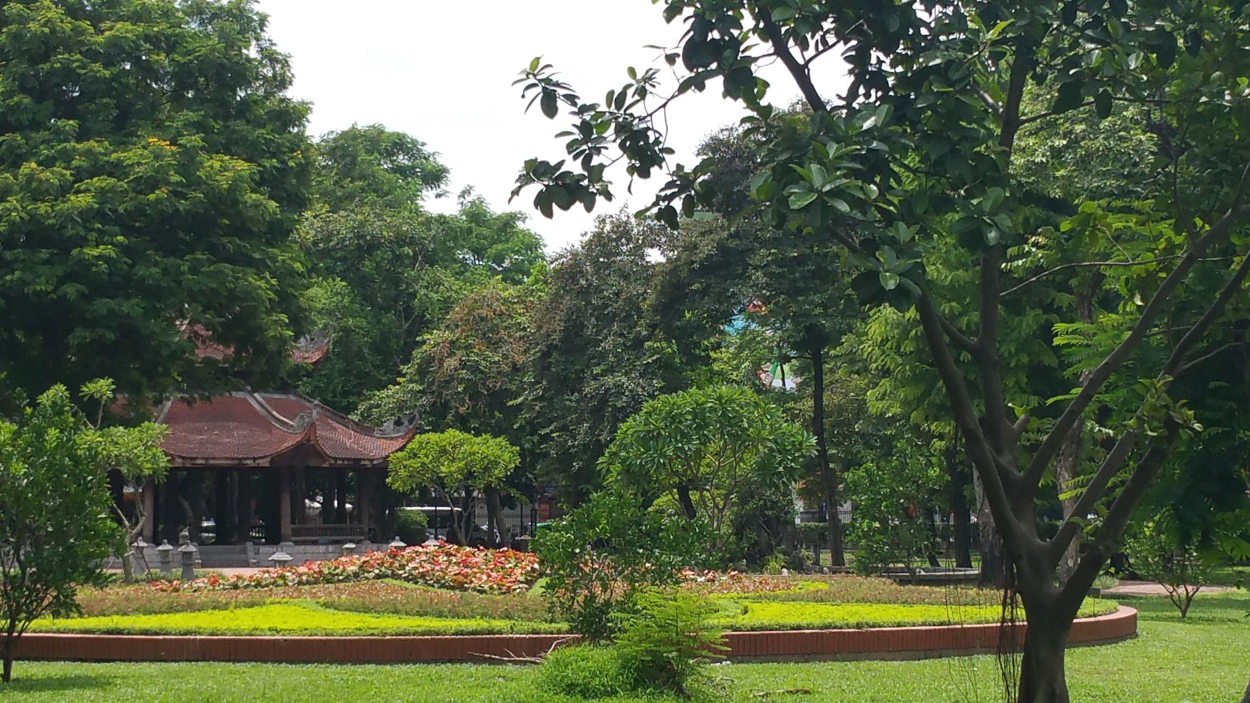 Communist countries have amazing parks.
