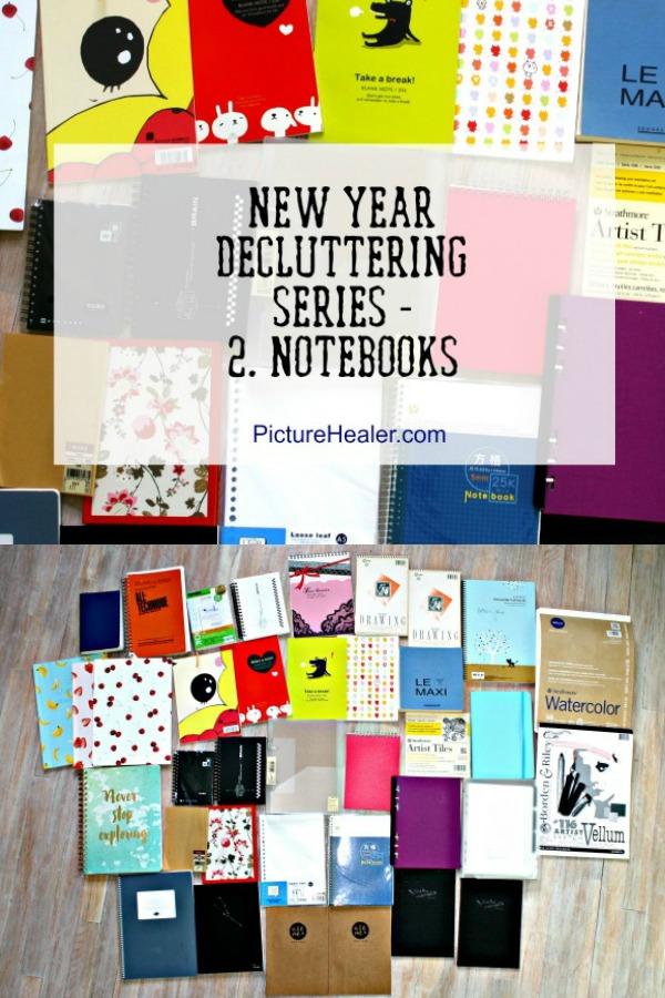 Declutter notebooks