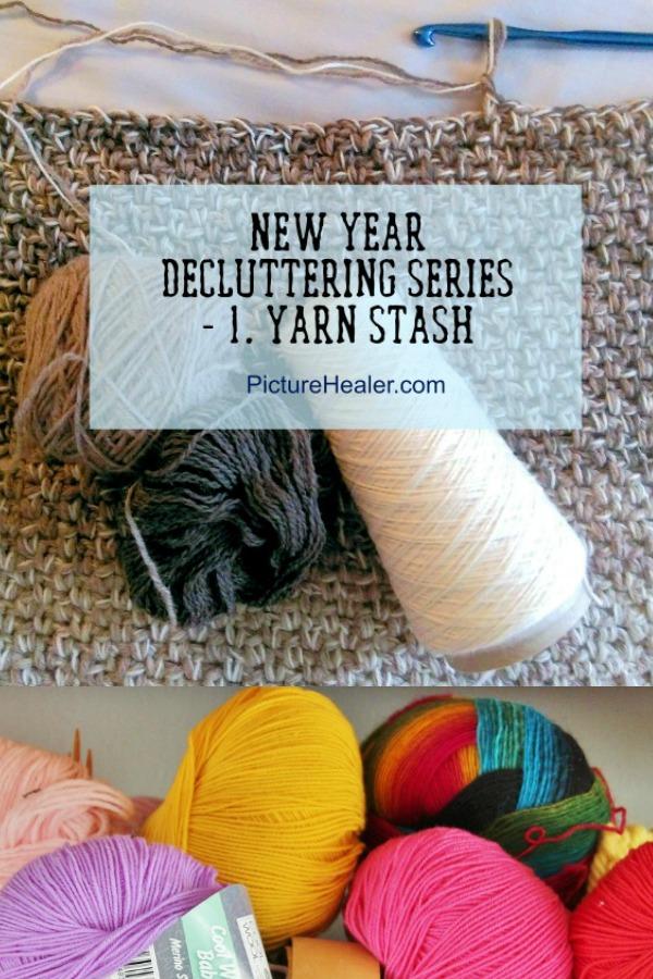 De-cluttering yarn stash