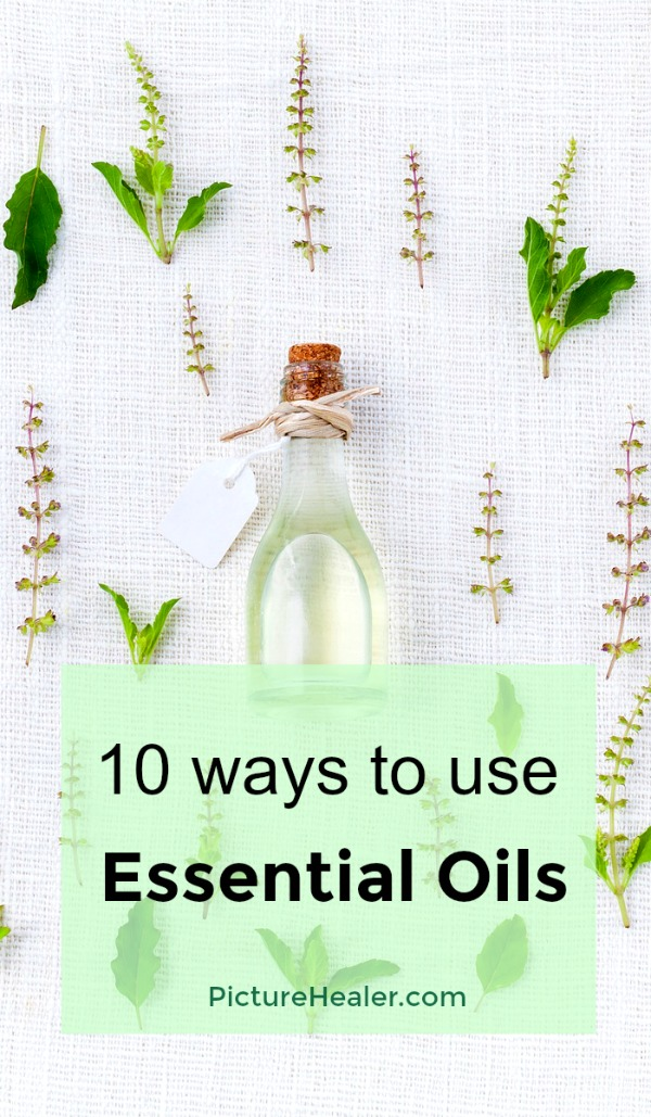 10 ways to use essential oils