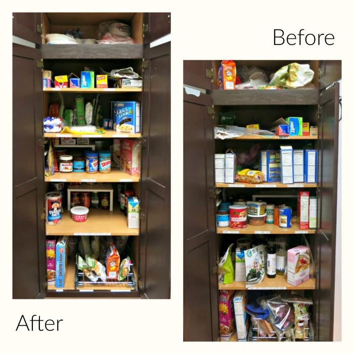 kitchen pantry organization