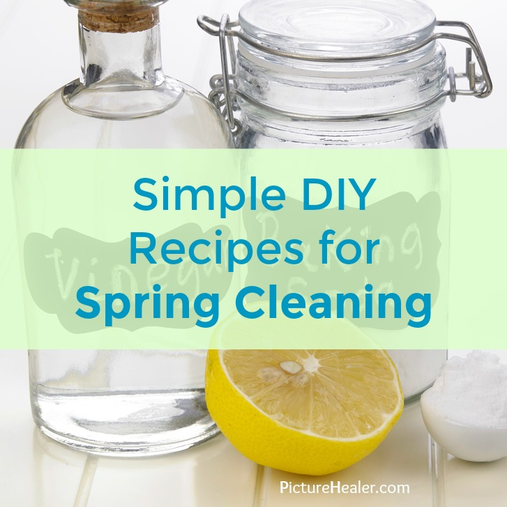 diy recipes for spring cleaning