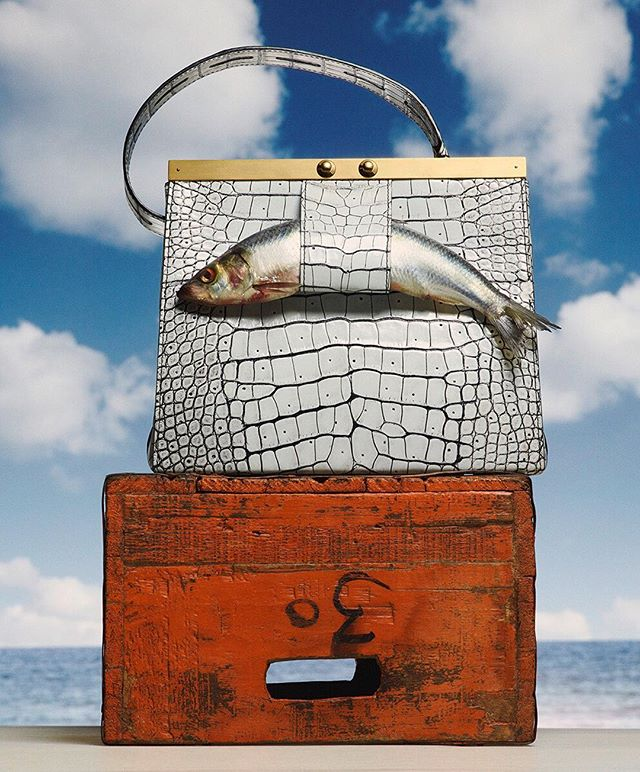 When your History of Art degree finally comes in handy with your day job. ⠀⠀⠀⠀⠀⠀⠀⠀⠀ Surreal Catch for @telegraphluxury shot by @mariuswhansen with @studio__rm @kucharswara 🎣
