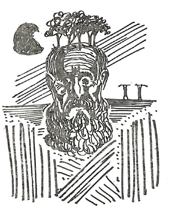 From the first edition of  The Eyes of Dead Dogs .