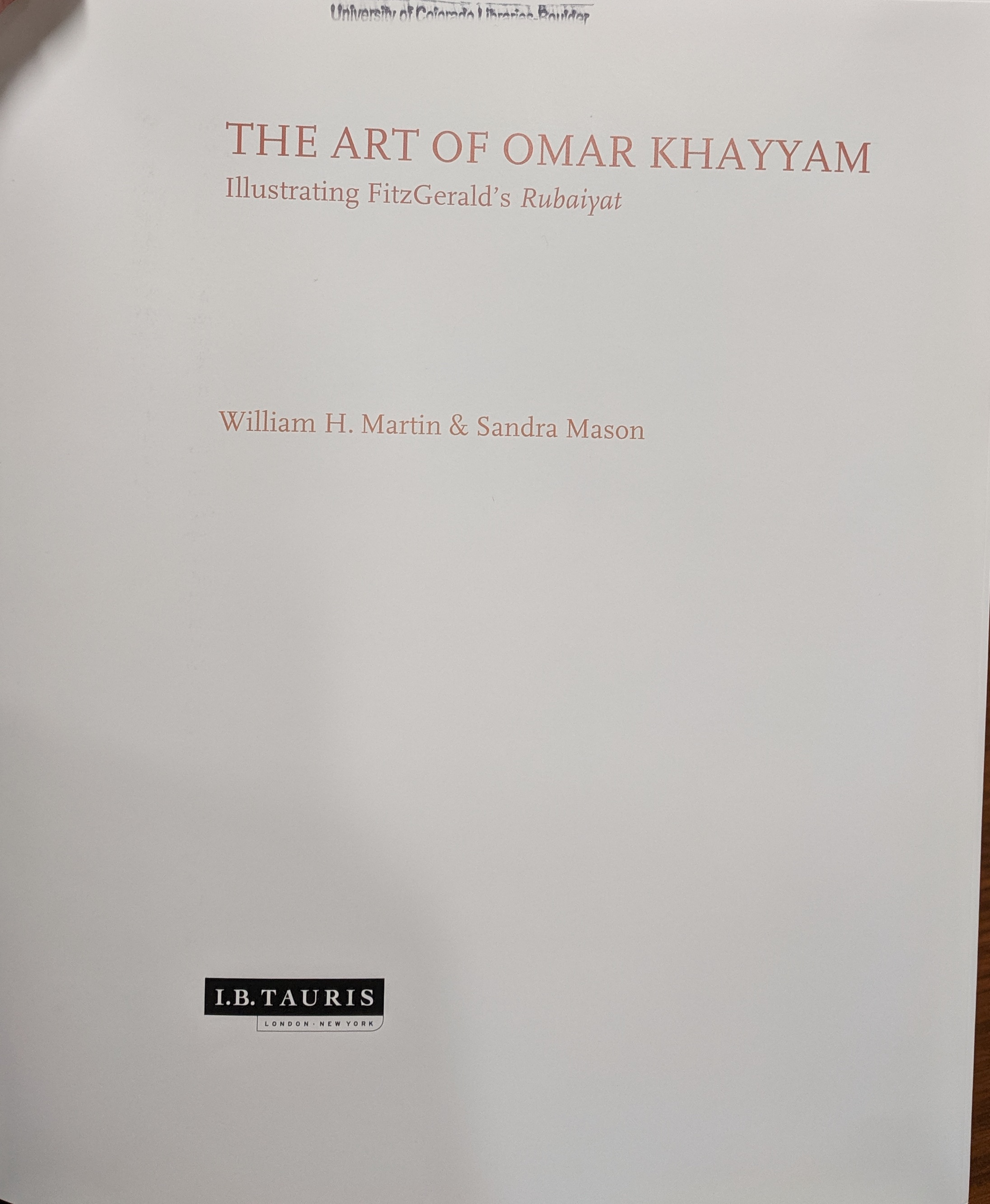 art of omar khayyam