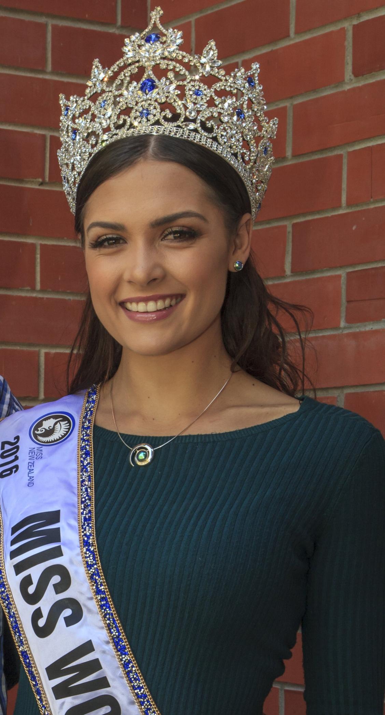 Miss World New Zealand 2016