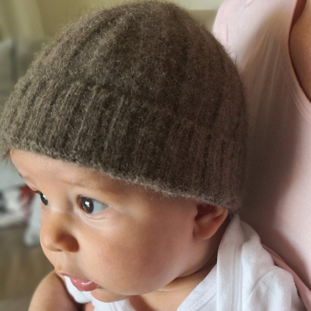 Pure New Zealand Merino Wool Baby Hats