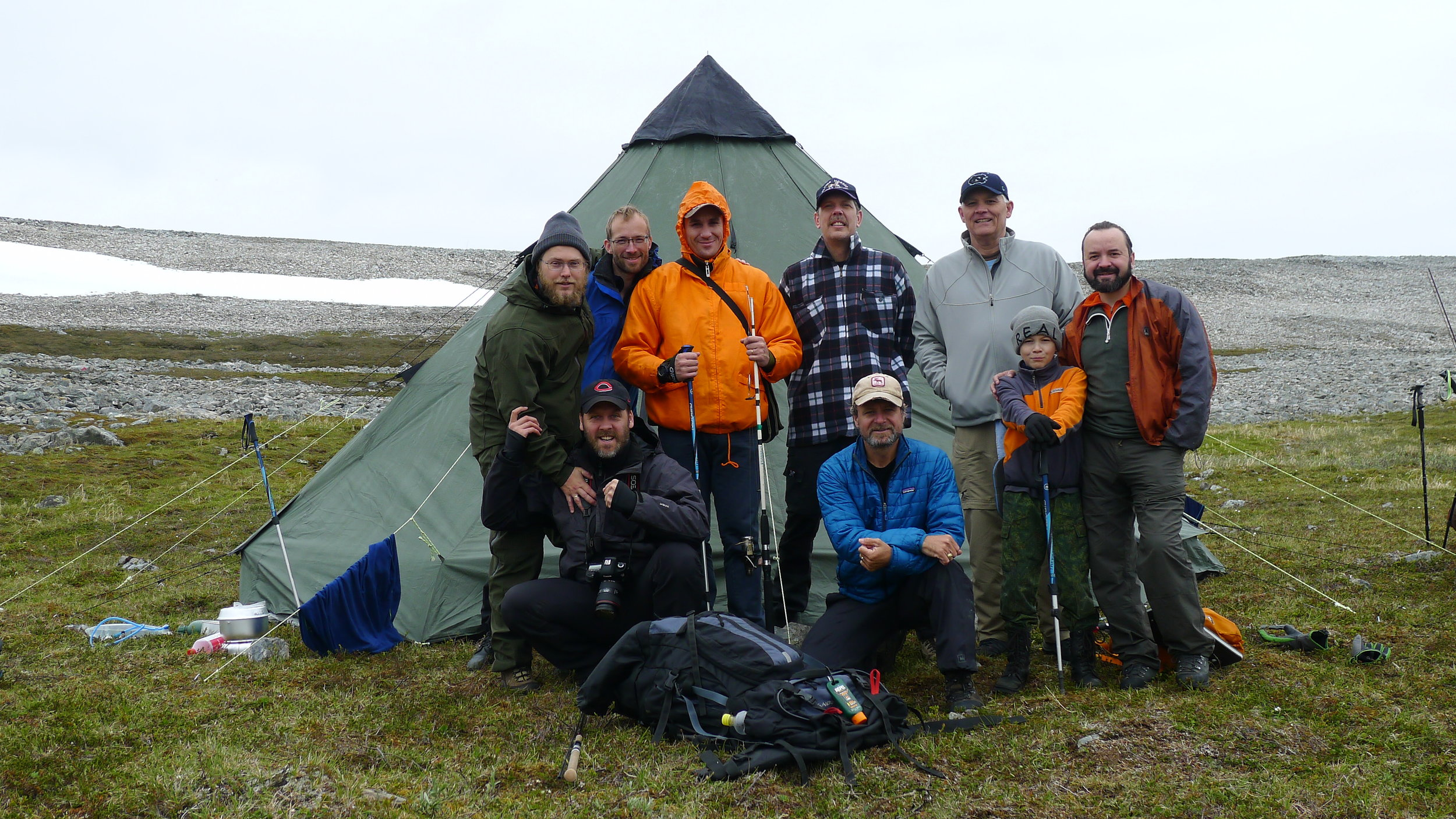 In July 2016 I hiked with new friends along the northern coastline of Norway.