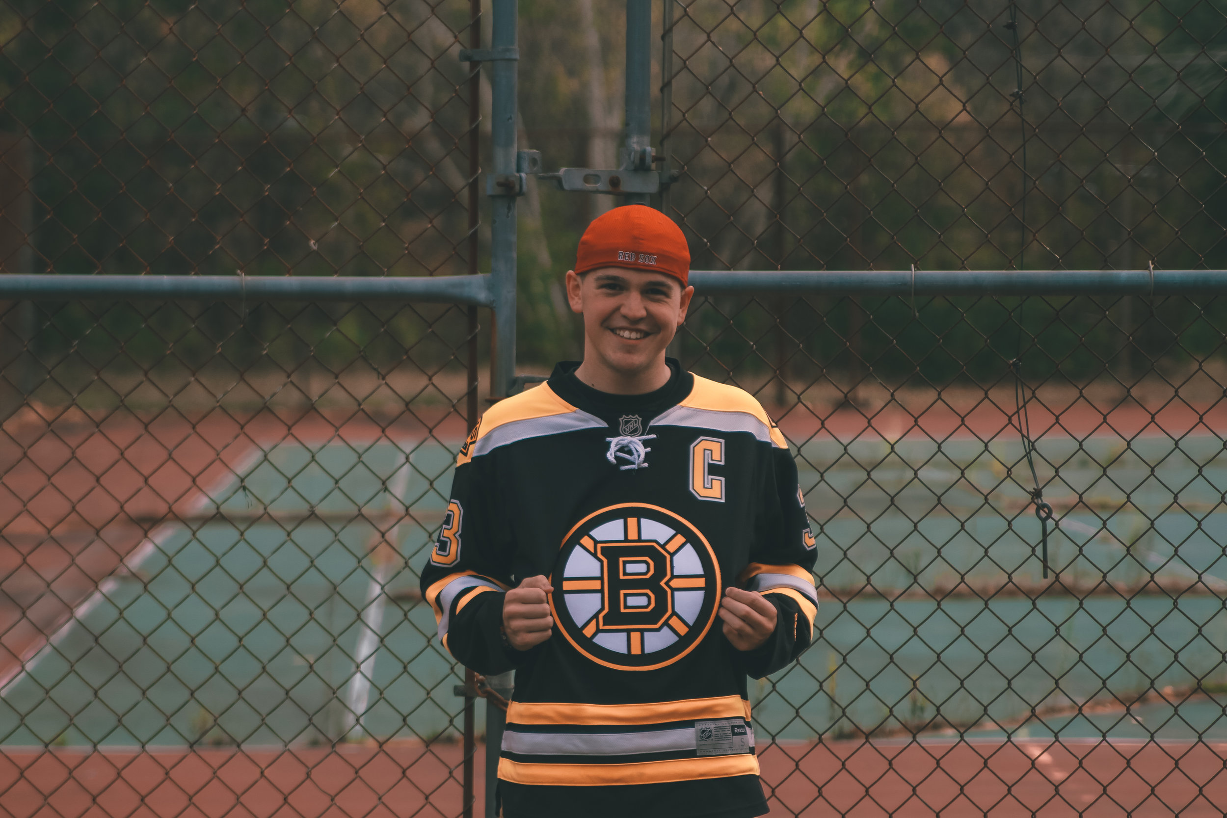 Spencer Lindsay. I'm a junior, Recreation, sport and wellness major from New Hampshire. I grew up loving boston sports and I still do. I hope to one day be working in the front office of the boston bruins.