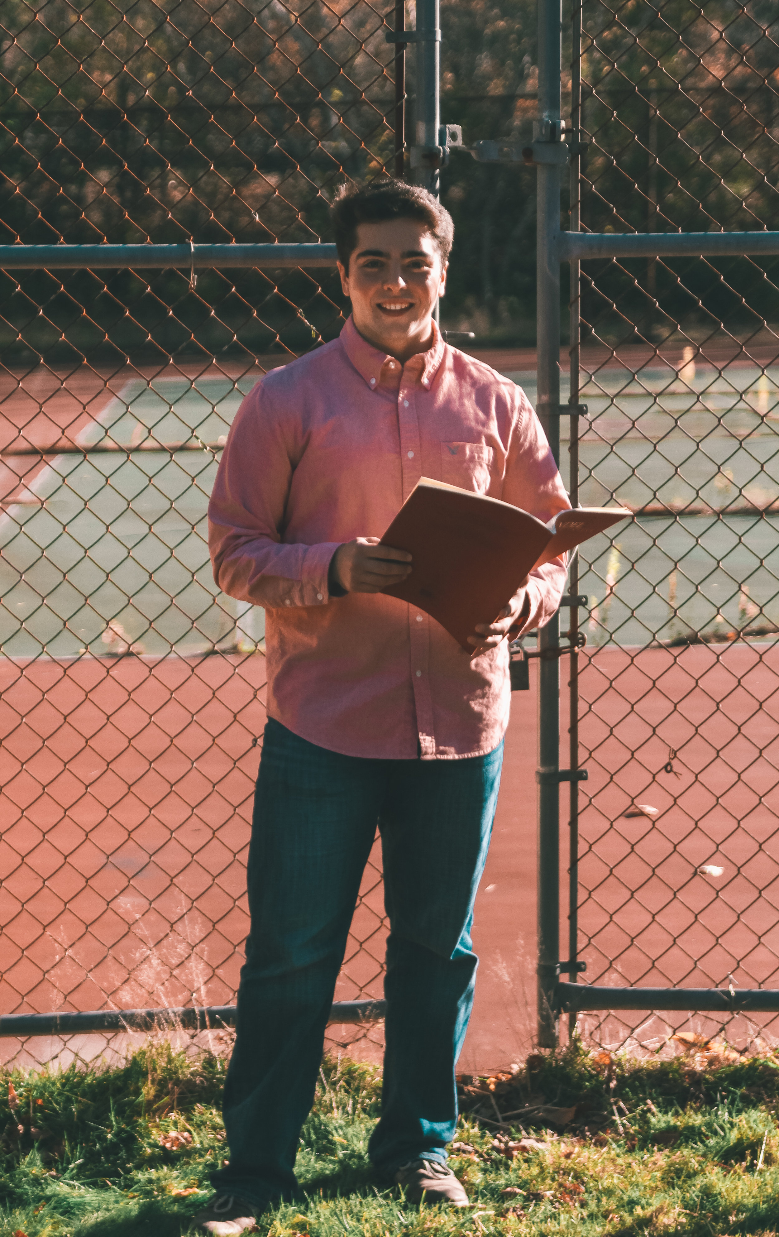 Travis Benoit, born in Worcester Massachusetts, Vocal Performance Major, Gordon College baseball player.