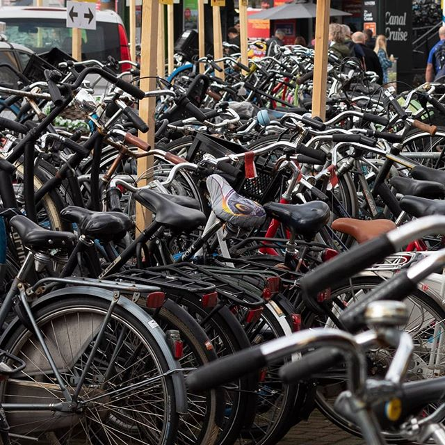 Bike City #50mm #streetphotography