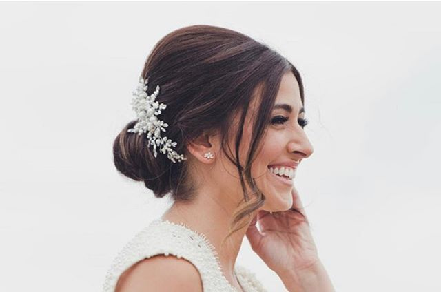 This windy 🌬 day has me dreaming of the summer ☀️ Warmth, sun, and radiant ocean front brides like this beauty!  Fun fact, we cut her angles to be perfectly custom for her bridal look 5 minutes before she left for pictures!  #jlilliehair #lilliesondune #bridalhairspecialist #bridalupdo  #westhamptonbeach #hamptonswedding #dunerd #oceanfrontwedding #beachwedding #brunetteupdo #bridalhairinspo #updoinspiration #bridalhairstylist #hamptonsbridalhair #hamptonshairstylist #longislandhairstylist #longislandbridalhairstylist #nycbridalhair #oceanbleu