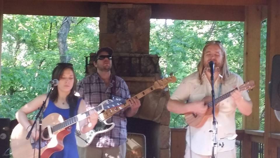 Heart Songs for Veterans Ambassador BJ Wilbanks performing for Warrior Overwatch, Georgia
