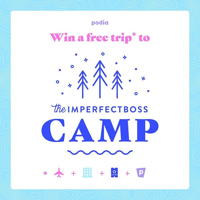 OMG GUESS WHAT. 🤩 . We have partnered with the seriously epic @podiadotcom to give away an all-expenses paid trip to camp. . One lucky winner will get one VIP event ticket, plus: * Airfare to/from Toronto * Roundtrip transportation from Toronto to Camp * All lodging and meals . Literally the only thing you have to pay for is the YES IN YOUR HEART. . The giveaway starts NOW and goes until 8PM EST on Sunday. Click on the link in our bio to enter! . CANNOT WAIT TO SEE AND HUG THE WINNER. Wait, do you think it'll be you? . Comment if you're entering and I'll send all the winning vibes your way. Like really. .  #authenticity #selfcare #selflove #loveyourself #mentalhealth #mentalhealthmatters #solovelysofree #communityovercompetition #youbelong #womeninbusiness  #beingboss #savvybusinessowner #thegramgang #bloomyellow #tnchustler #glitterguide