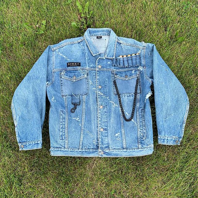 HANDMADE DENIM JACKETS FOR OUR POP SHOP AT @thegreenbarndoor