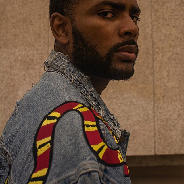 The Serpent Denim Jacket. A 1/1 crafted by @mrvasdev