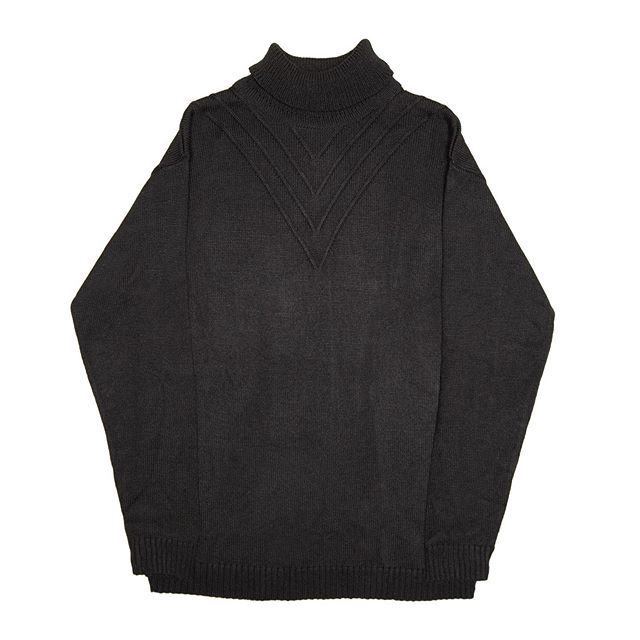 """The Knit """"V"""" Turtleneck, available tomorrow at 5 PM CST"""