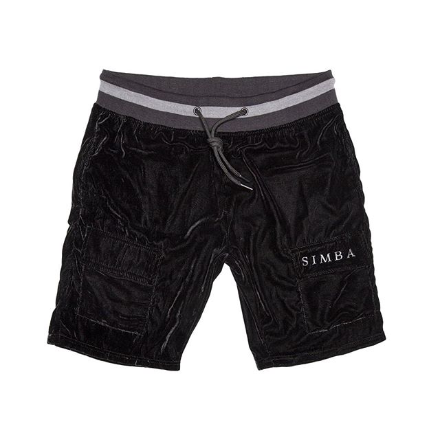 Velour Cargo Short. Available Friday September 13th at 5 PM CST