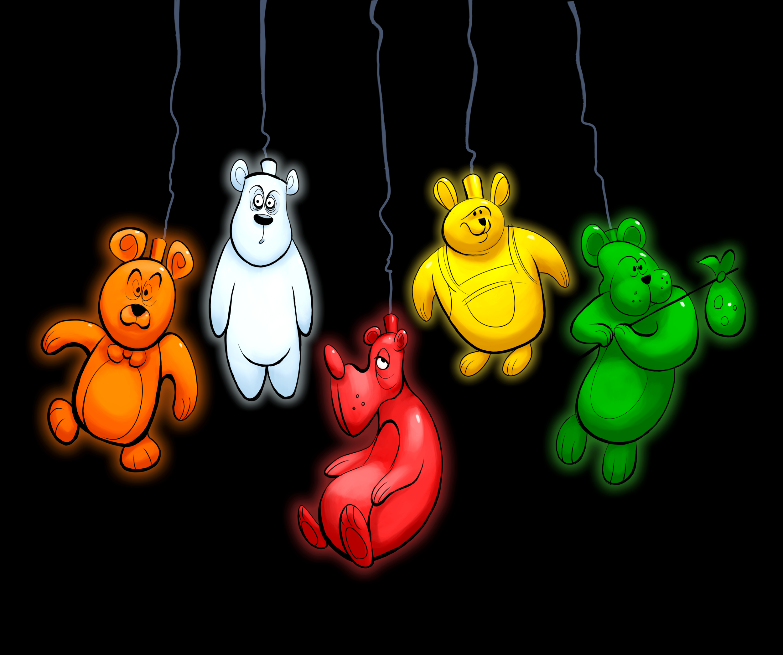 Bear Lanterns