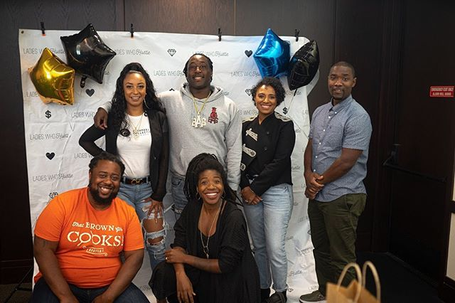 Thank you again to all that showed up ! Our amazing panelist ! @bagceo_black @cashmere_collectionvirginhair @zzajcollins @wykingrmc @dameparle @mis_liberation !! When I tell you everyone said you guys dropped so much knowledge ! Cheers to new bags, new blessings and new business 💙🏁 #hustleandmotivate