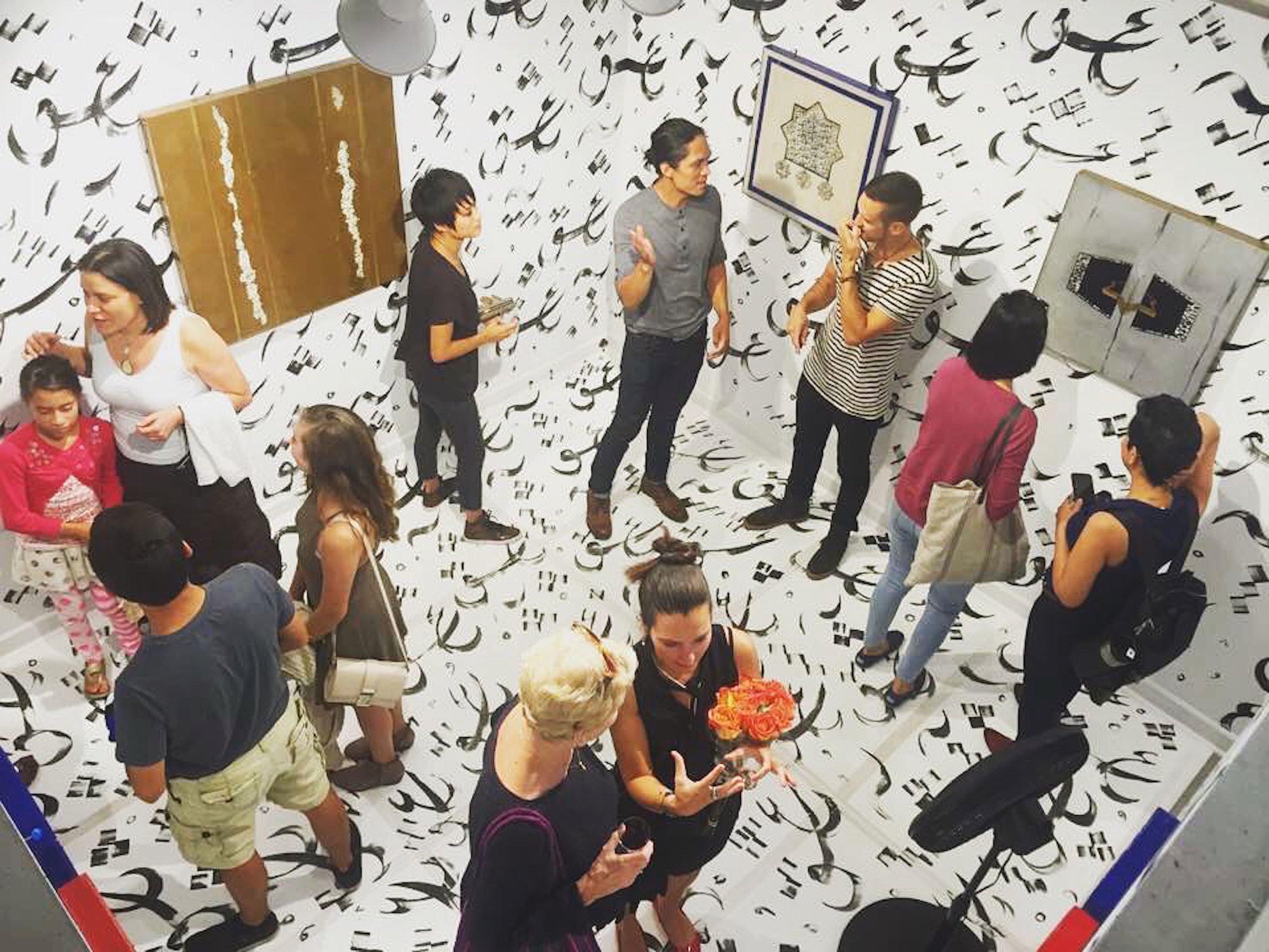 Sarvin Haghighi Solo Exhibition - Lillstreet Art Center - Chicago, IL