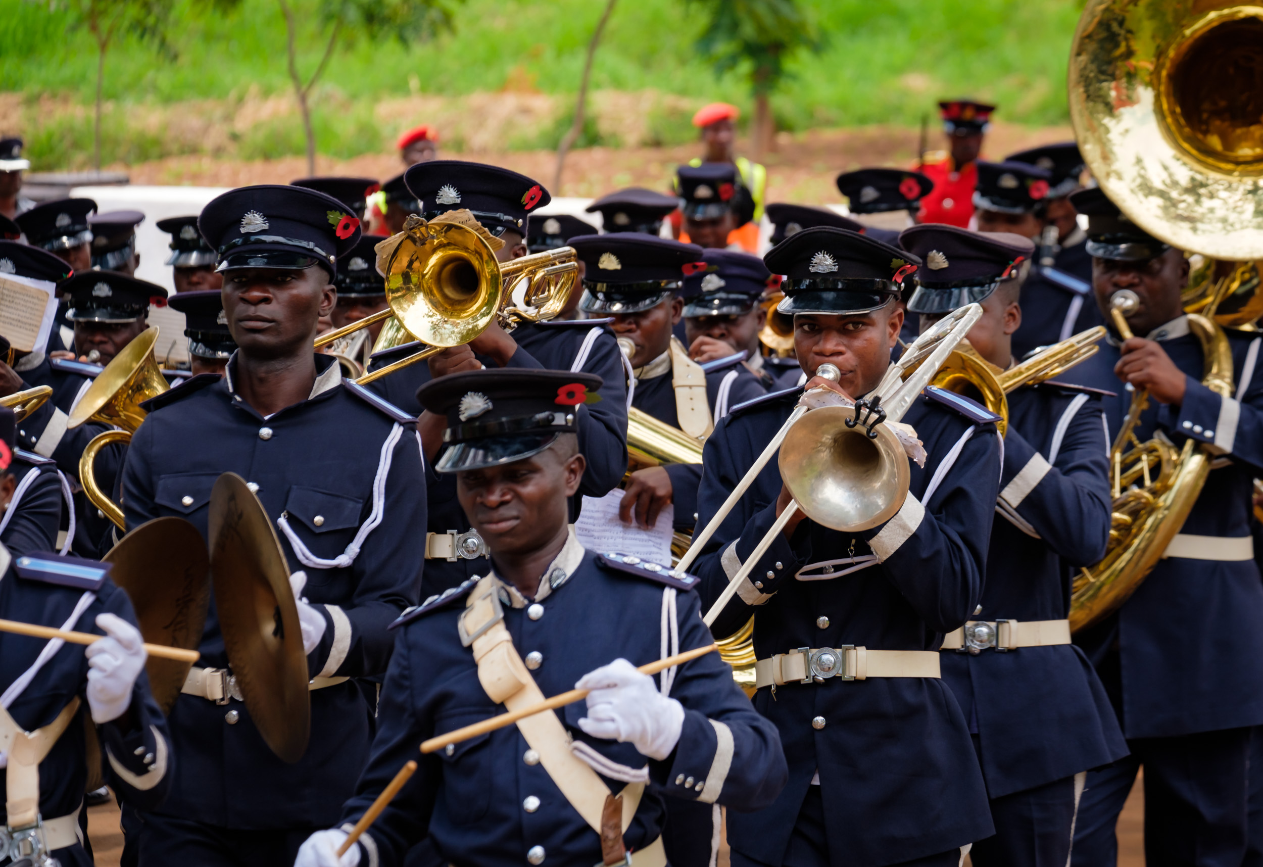 The Zomba Police Honor Guard led the parade