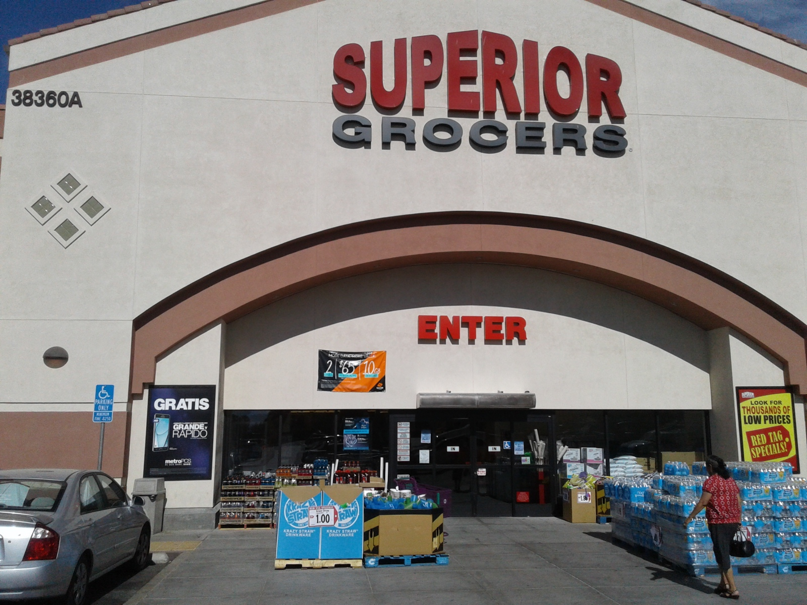 """POP PANELS are displayed front and center by supermarket entrances. These large 48"""" x 69"""" framed advertisements are in full view of vehicular & store customer traffic."""
