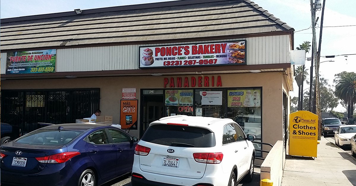 """Reach BAKERY (AKA: Panaderia) shoppers across California with high-impact posters displayed right at the entrance of each bakery. These large 30"""" x 48"""" one-sheets are in full view of vehicular and pedestrian traffic surrounding some of the nation's most densely populated Hispanic markets."""