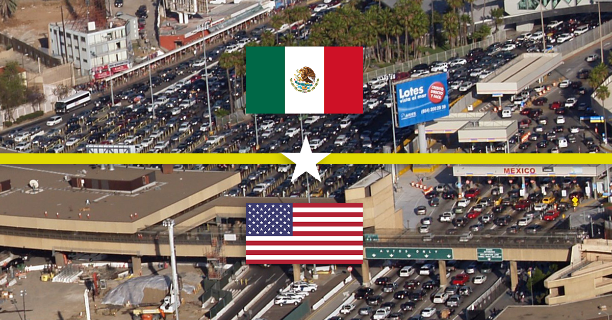 Our MEXICO/US BORDER media is positioned just before the border crossing for maximum exposure to the daily bumper-to-bumper traffic.