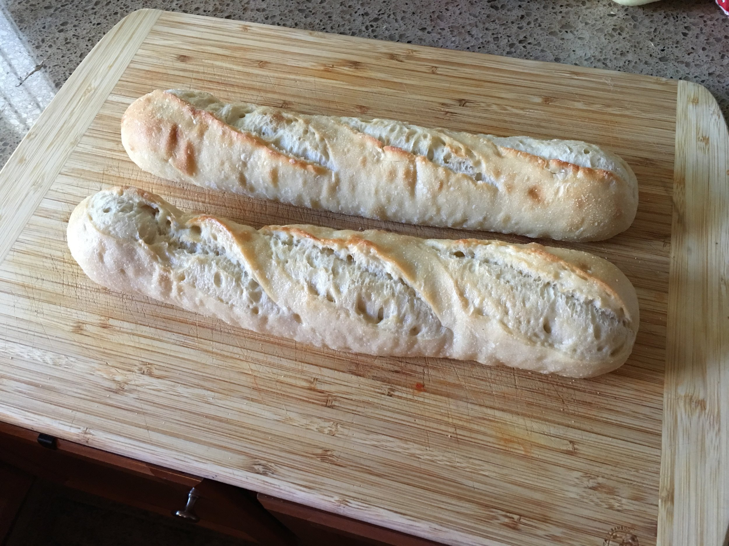 NEED TWO LOAVES FRENCH BREAD