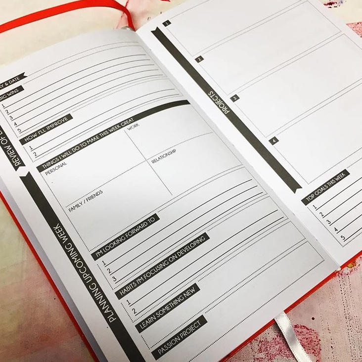 The Panda Planner...my favorite planner for artists.