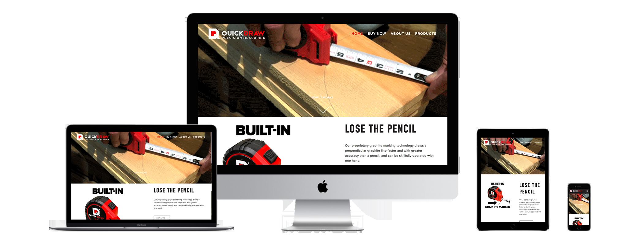 XYZ Design   QuickDraw Website Device Displays