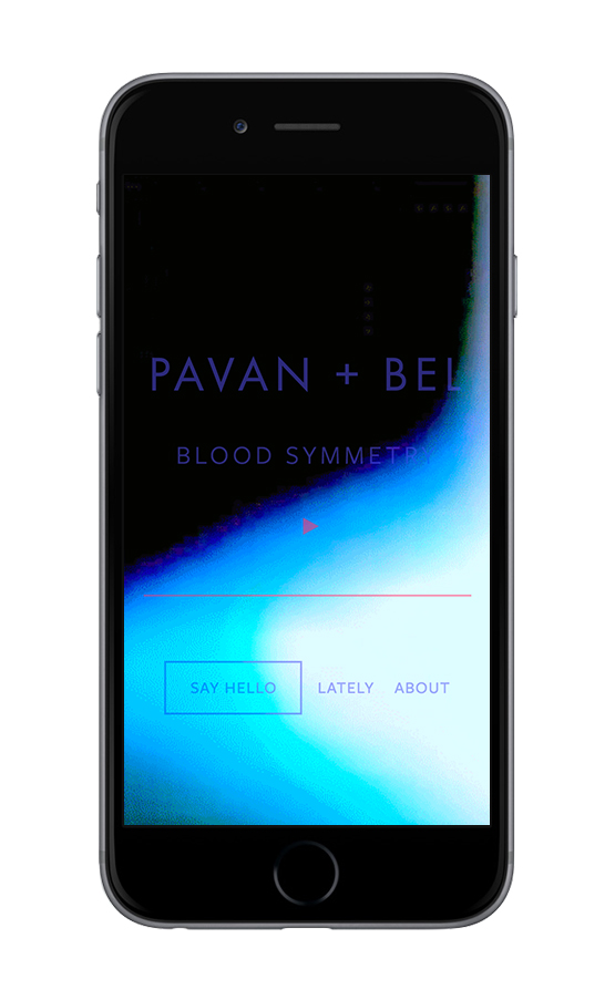 XYZ Design | Pavan + Bel Mobile Device View 3