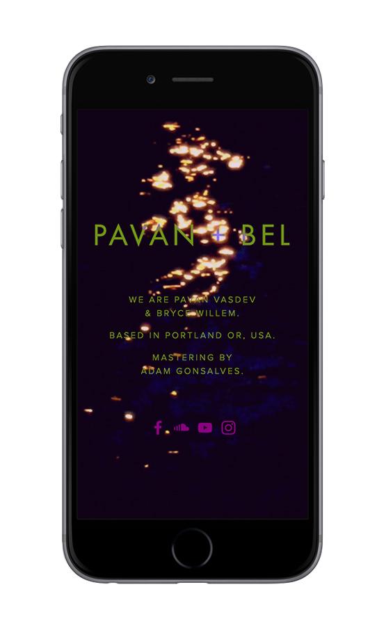 XYZ Design | Pavan + Bel Mobile Device View 2