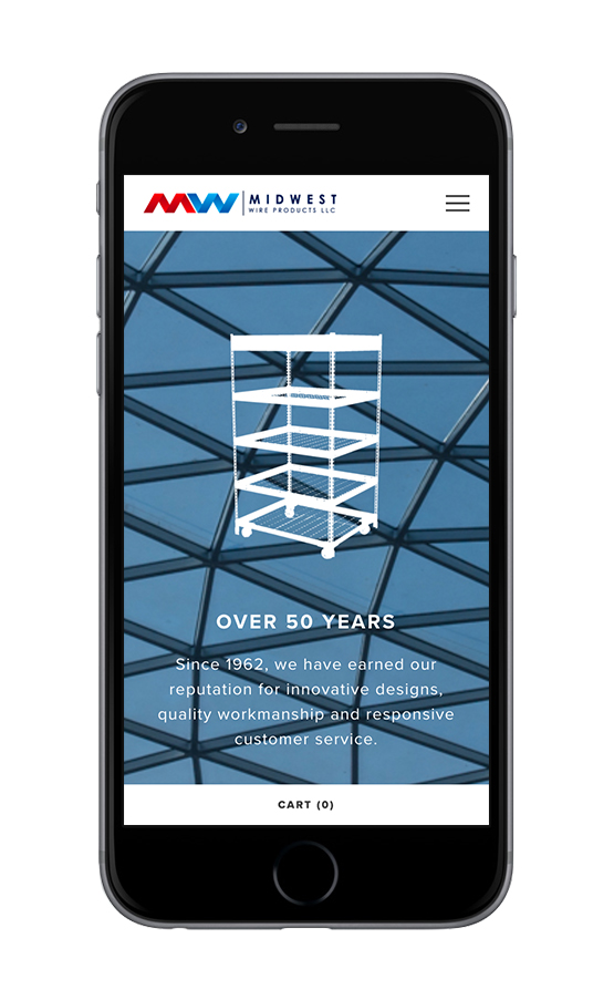 XYZ Design | Midwest Wire Products Mobile Device View 1