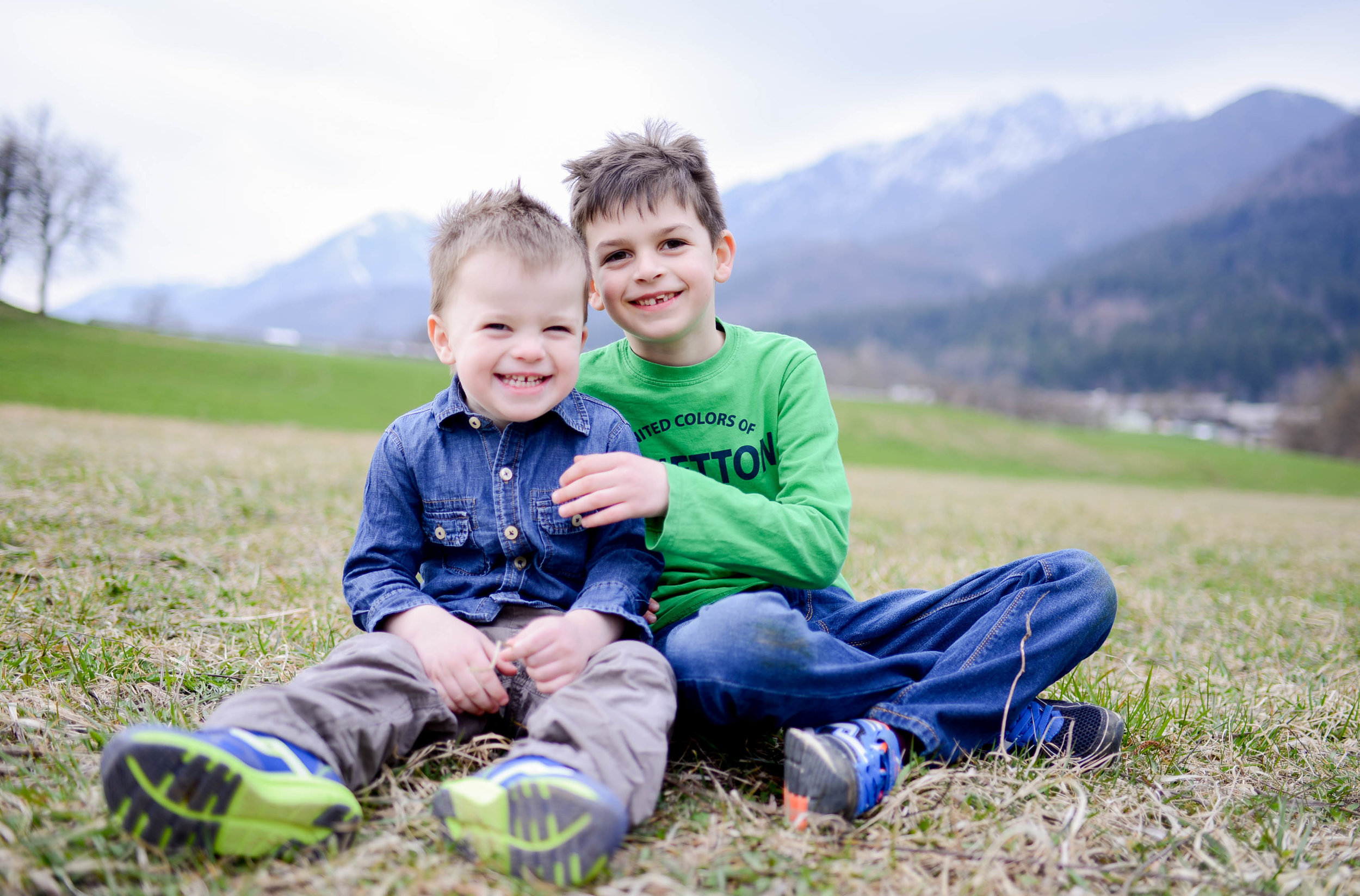 Lake Preddvor Children's Lifestyle Session Slovenia