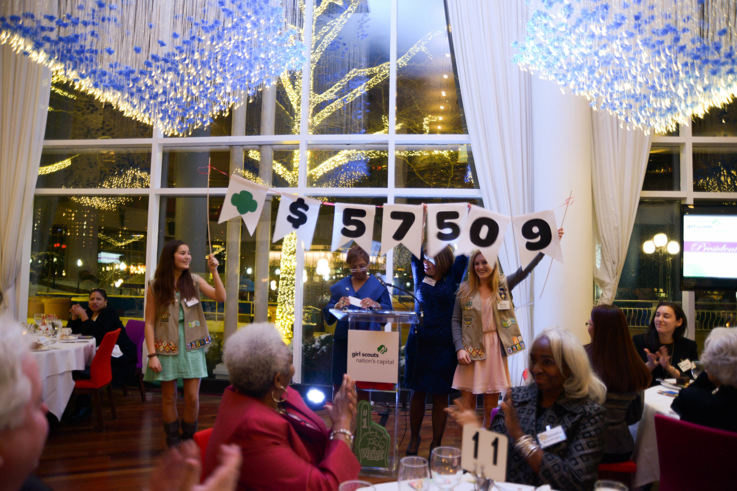 Girl Scouts Council of DC Dinner | Sequoia Restaurant Georgetown DC