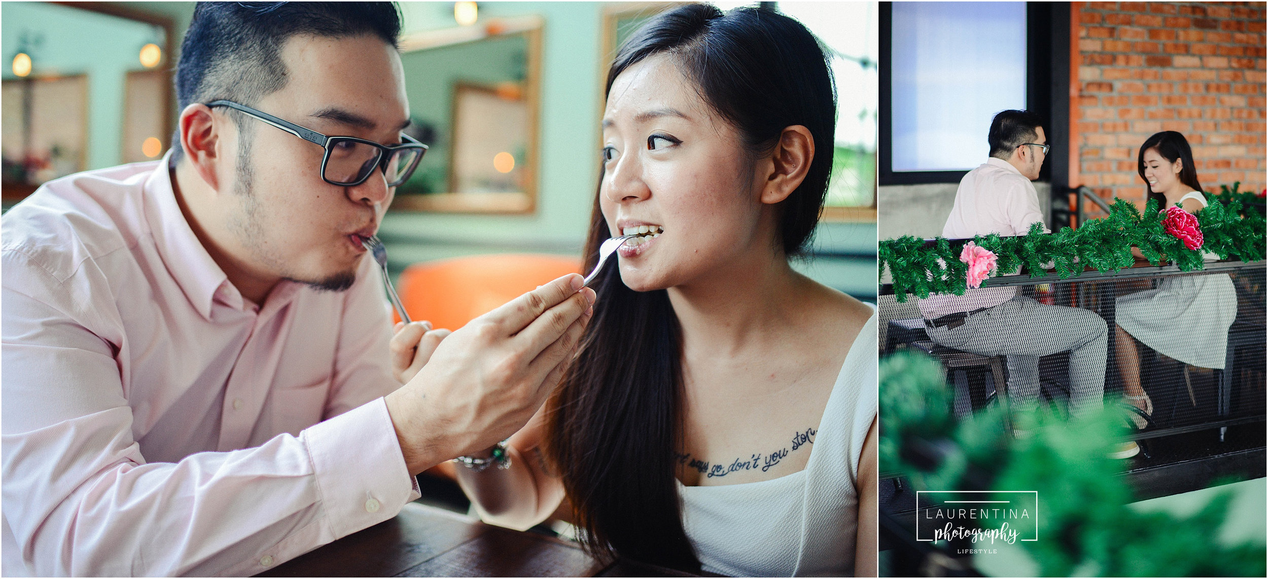 Cafe Engagement Photography Malaysia
