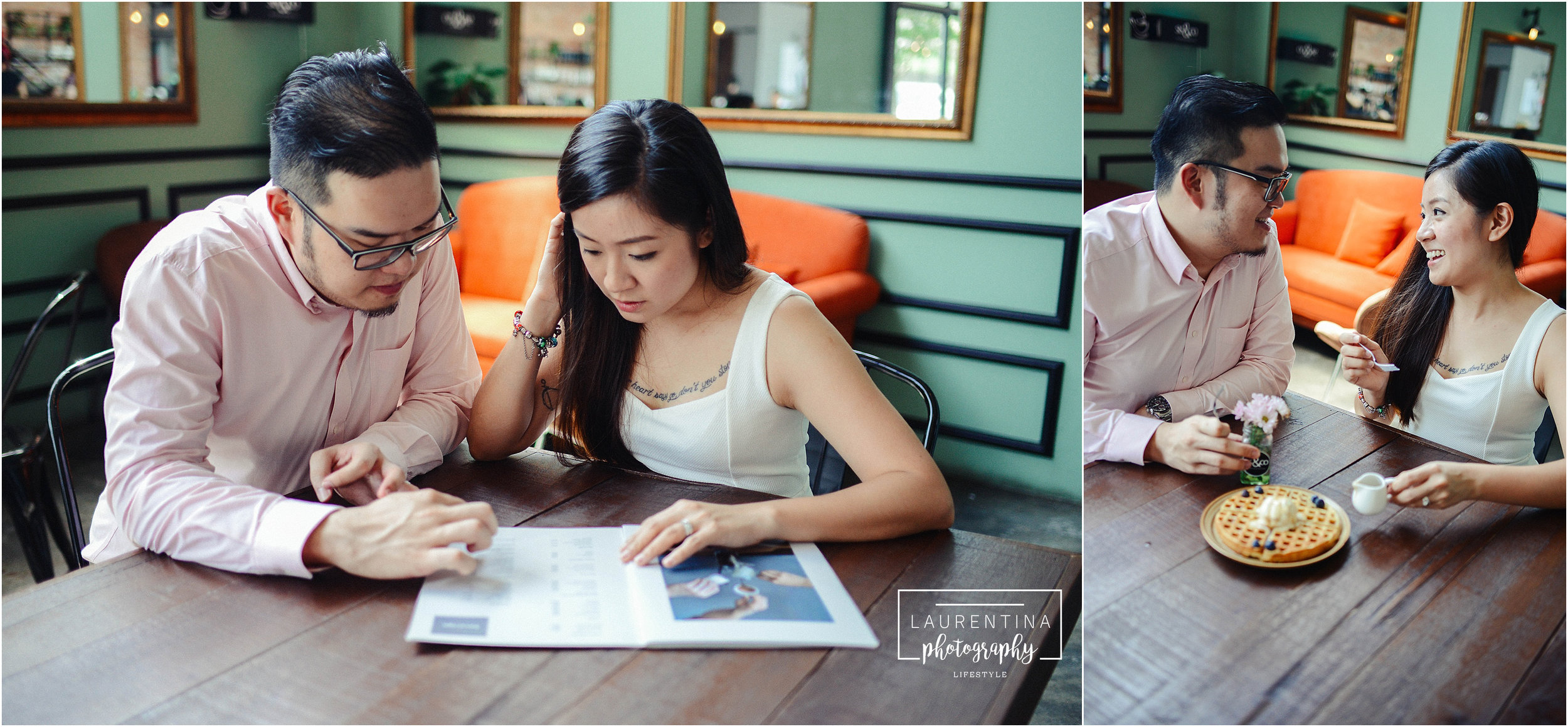 Cafe Engagement Photography Malaysia