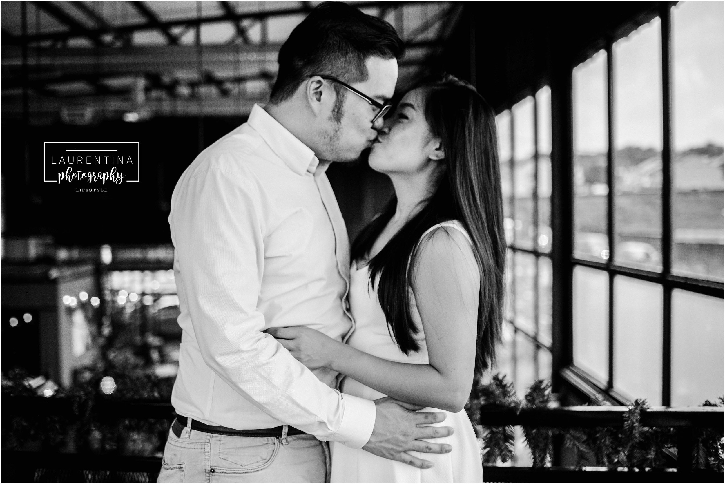 Engagement Photography Black and White Kuala Lumpur Malaysia